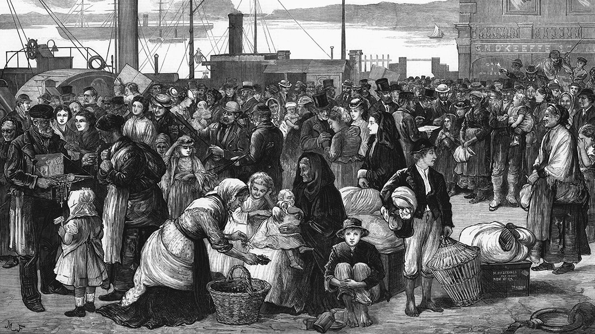 irish german and british immigrants People of german ancestry dominate us melting pot  louis irish and german immigrants,  that came to america by using a boat like irish, italians and british.