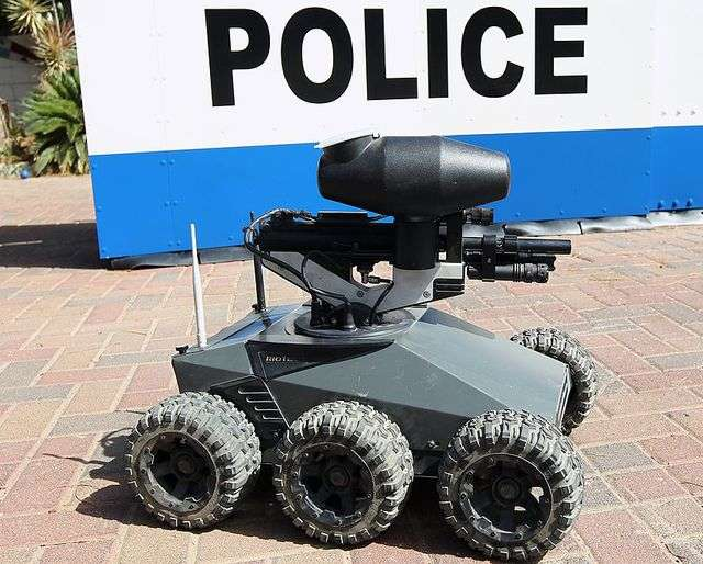 police used a robot to kill dallas suspect � and itll