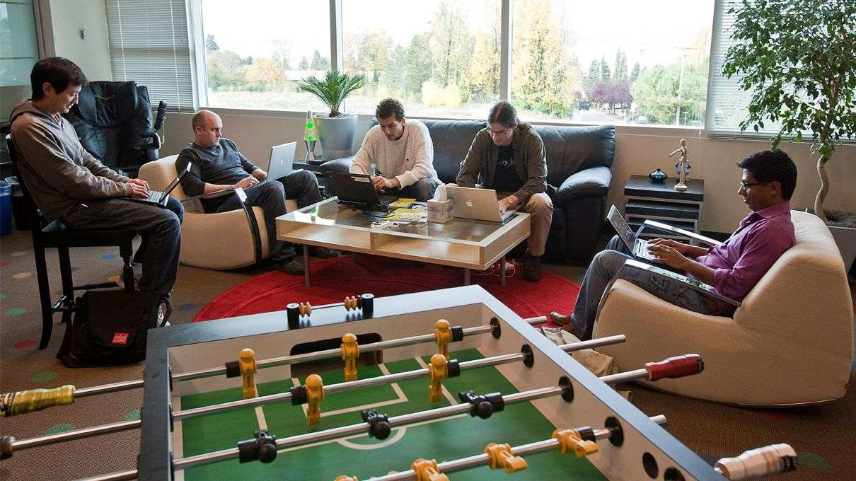is anyone really using the foosball table office perks employees is anyone really using the foosball table office perks employees actually want google engineers