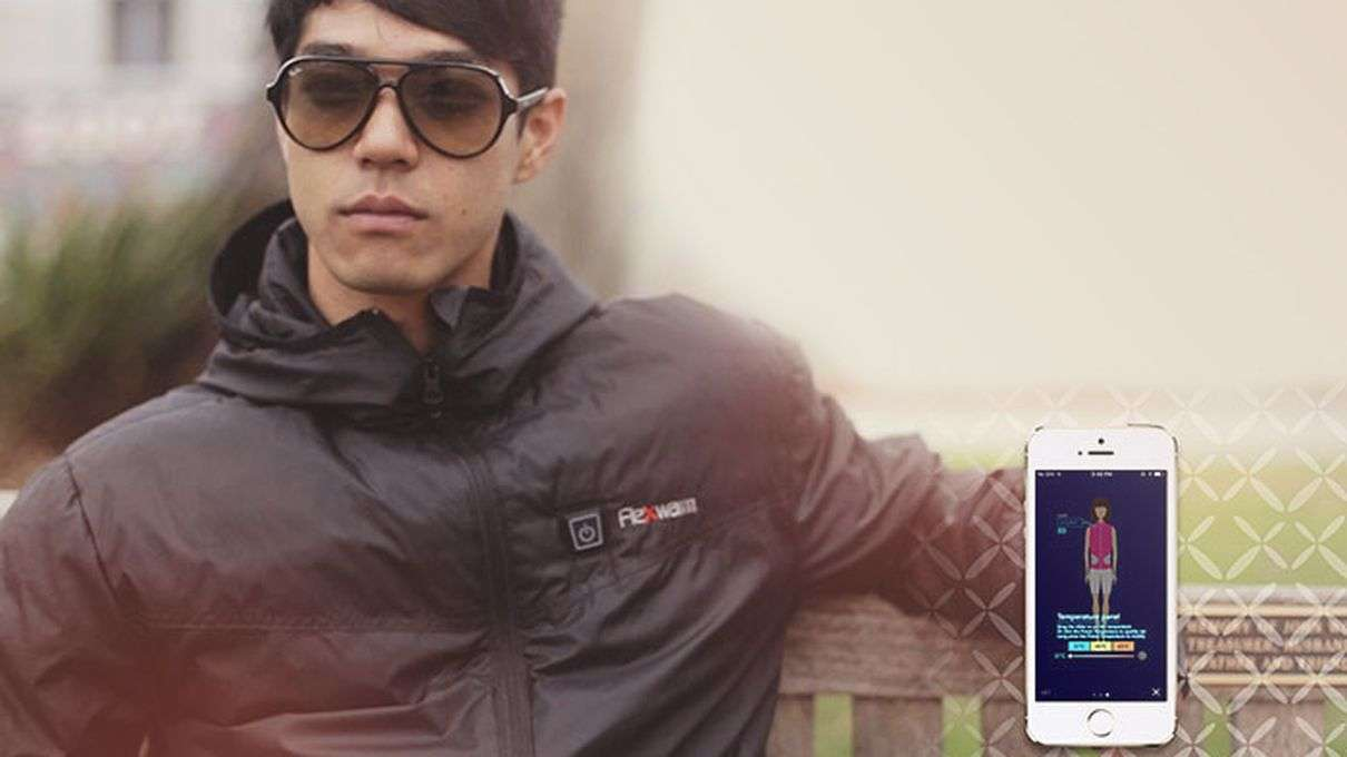 This 'Smart Jacket' Knows What Temperature Will Keep You Warm This Winter
