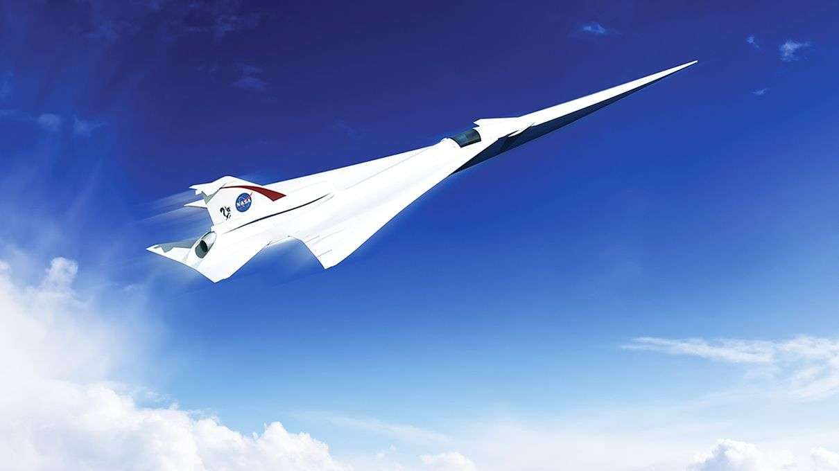 NASA's Aiming for Supersonic Jets Free of That Pesky Sonic ...