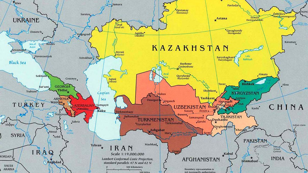 The Asian Geography Quiz HowStuffWorks - Kyrgyzstan map quiz