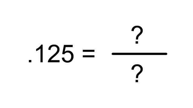 Can You Match The Fraction To The Decimal Amount Howstuffworks