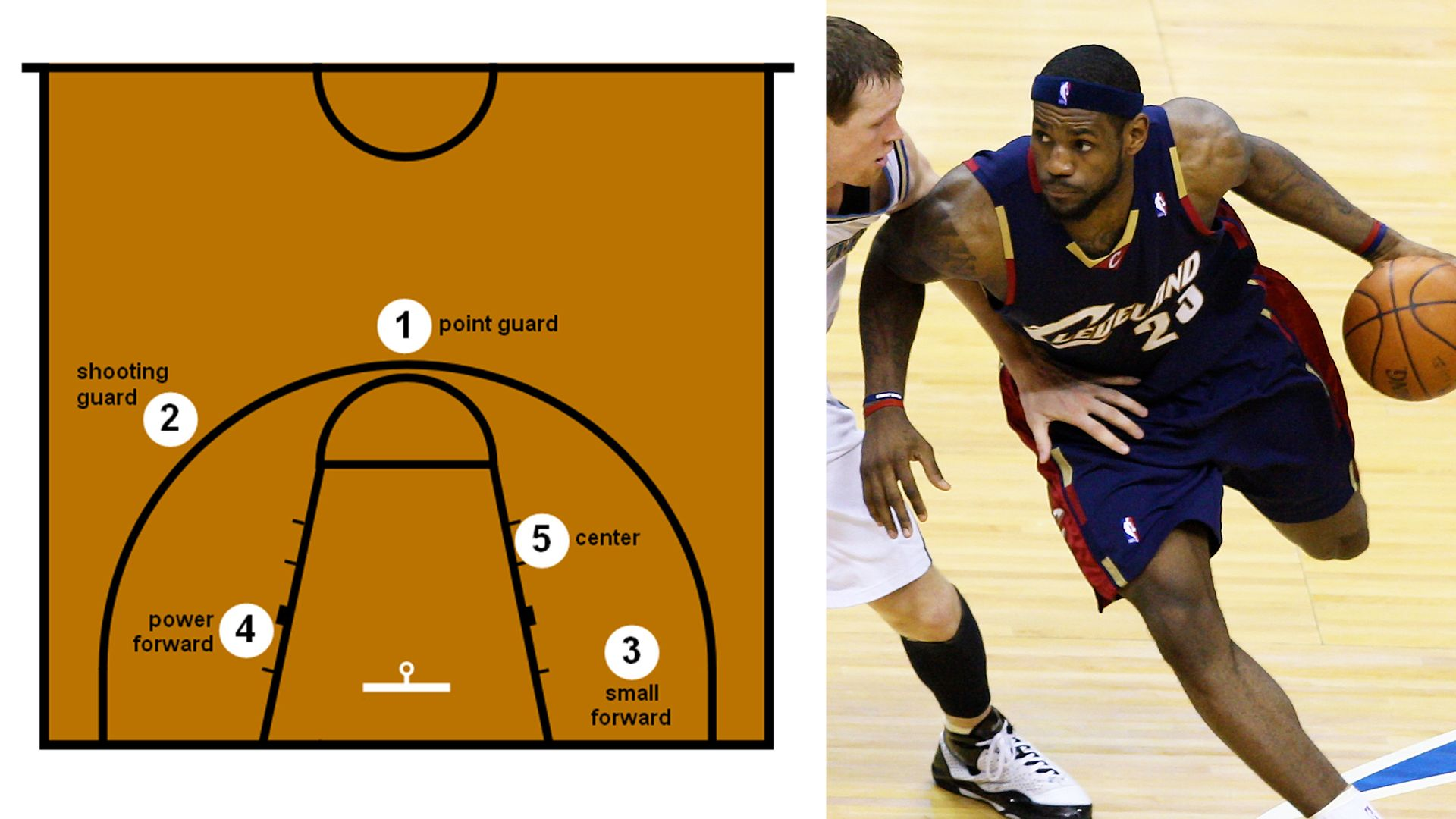 Can We Guess What Position You Played In Basketball