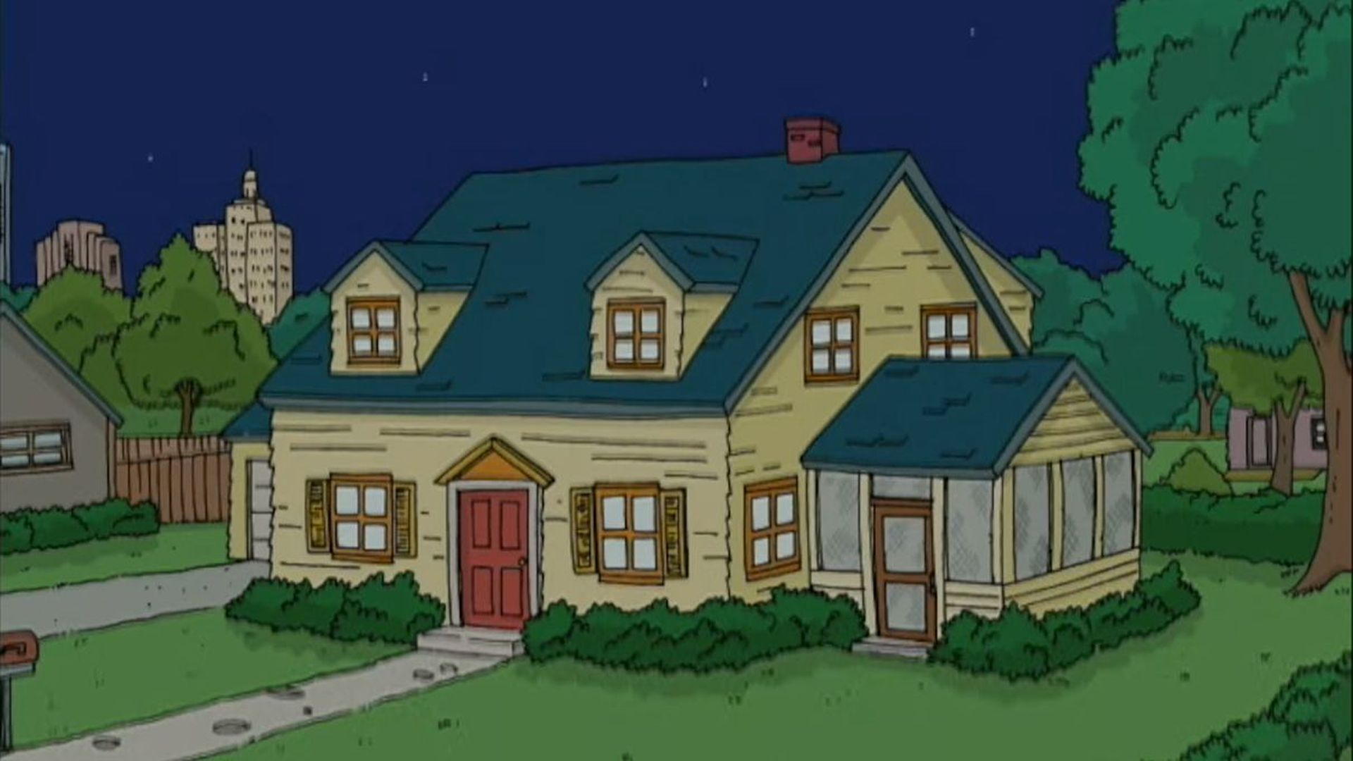 We Ll Show You A Cartoon House You Tell Us What Character Lives In It Howstuffworks