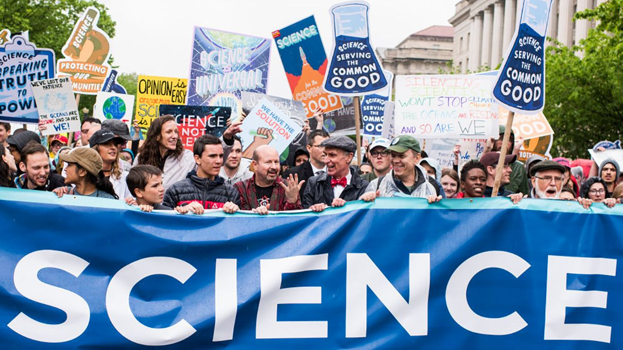 March for Science: Thousands Worldwide Rally on Earth Day