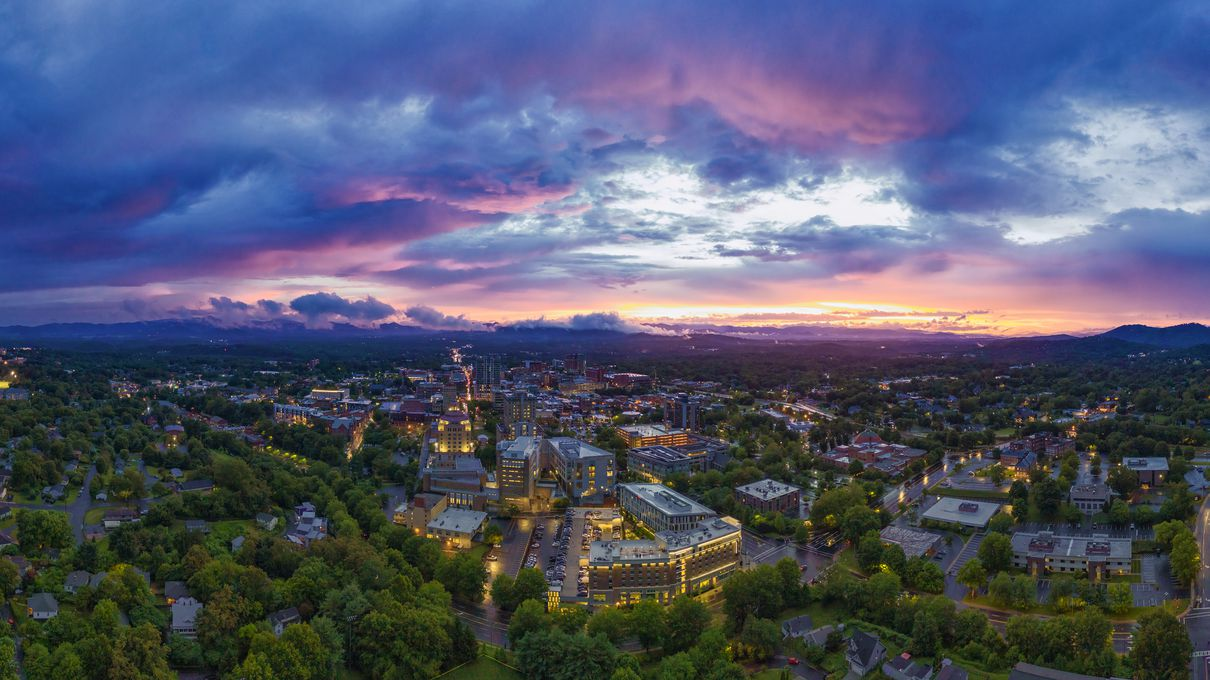 Number 5 BEST: Asheville, North Carolina