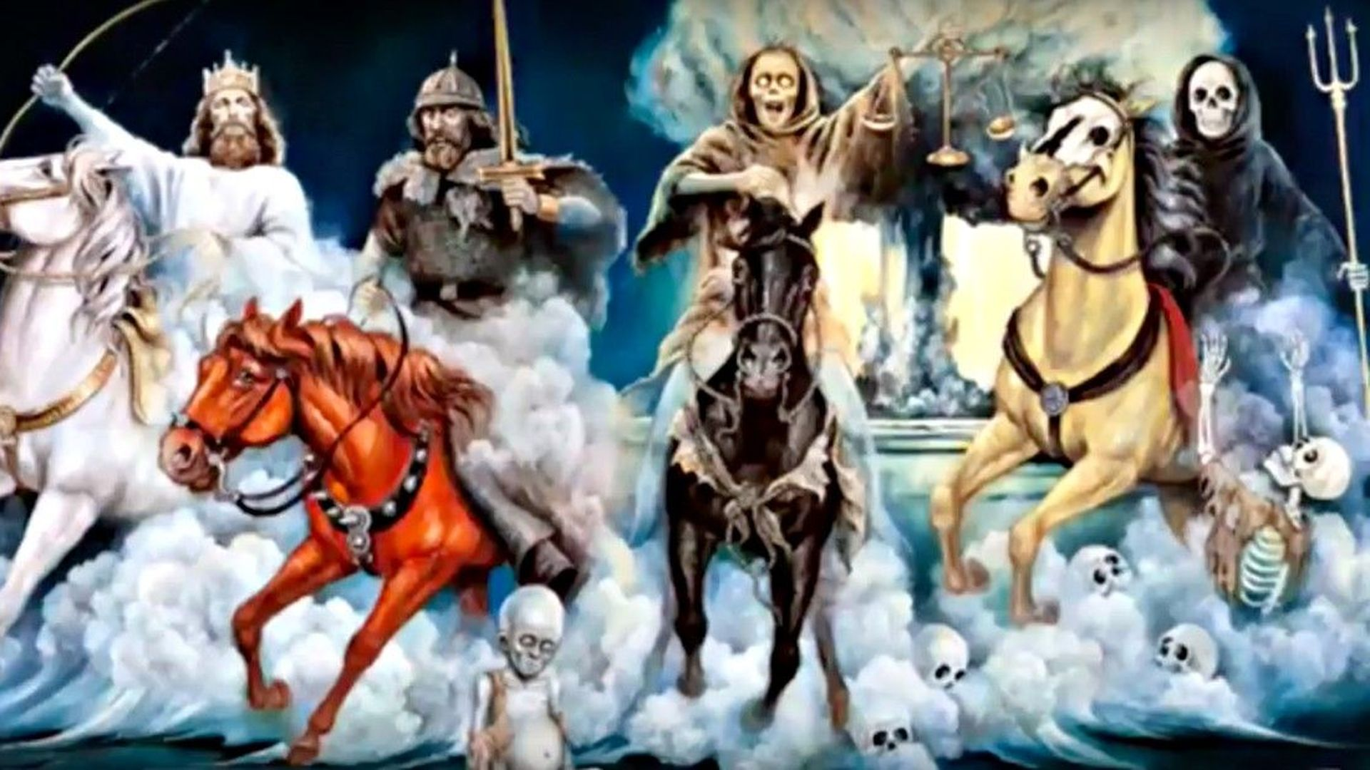 Zoo: Which of the Four Horsemen of the Apocalypse are you?